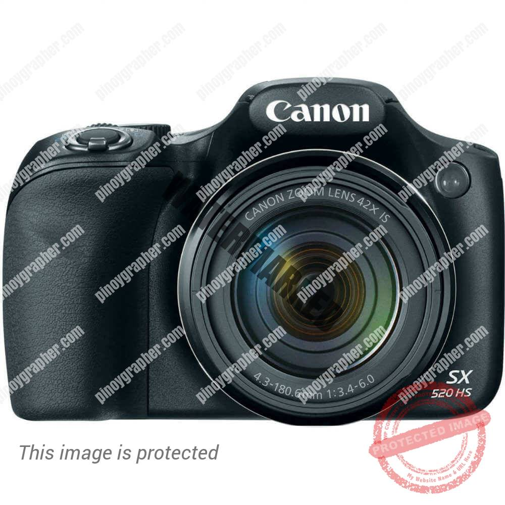 PowerShot SX520 HS New Canon's ACE on the DIGITAL CAMERA Market